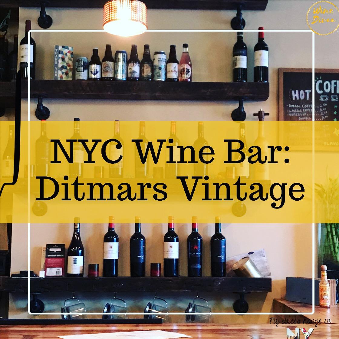 NYC Wine Bar: Ditmars Vintage