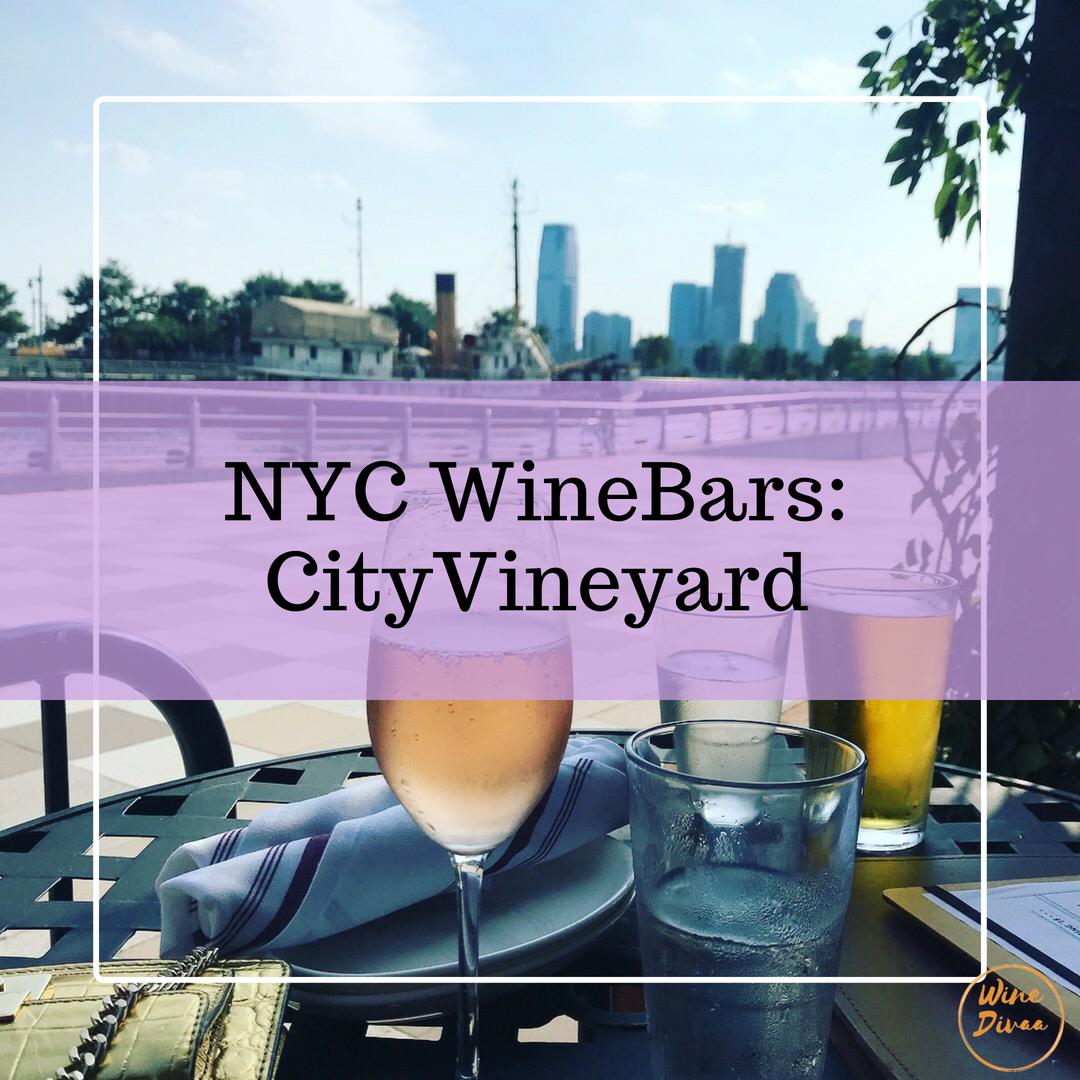 NYC Wine Bars City Vineyard