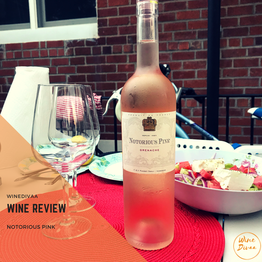 Wine Reviews Notorious Pink