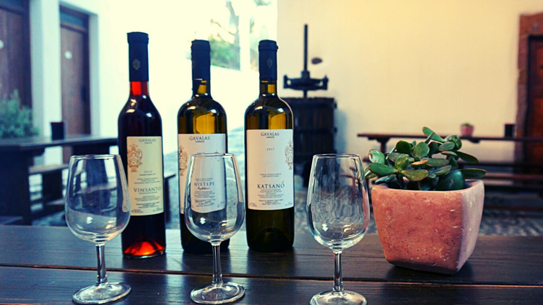 Gavalas Winery Wine Tasting - Santorini Greece - Wineries around the World by WineDivaa